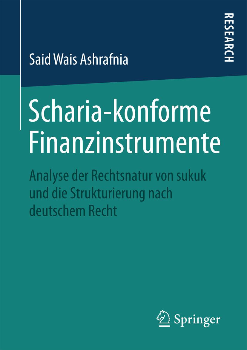Ashrafnia, Said Wais - Scharia-konforme Finanzinstrumente, ebook