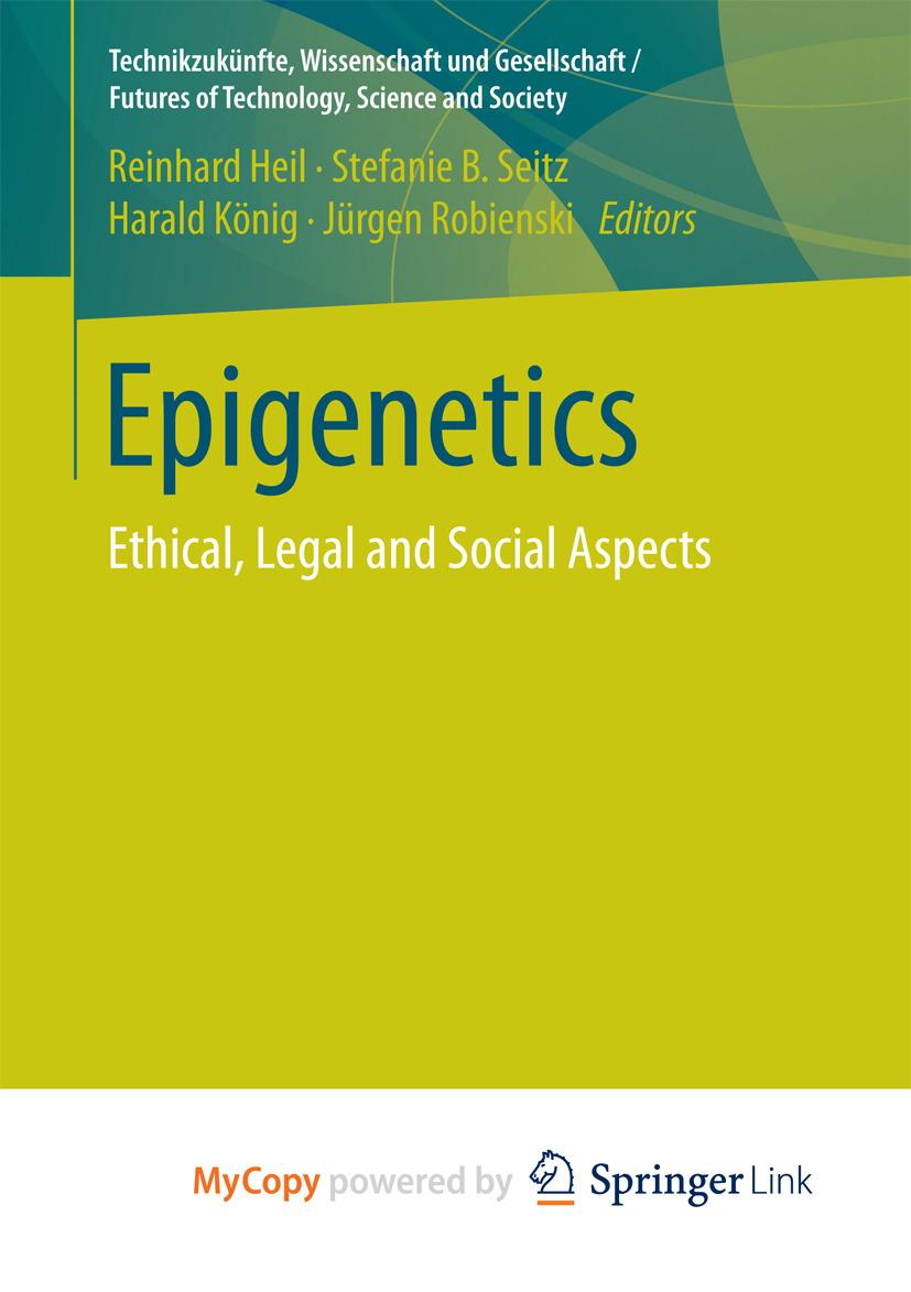 Heil, Reinhard - Epigenetics, ebook