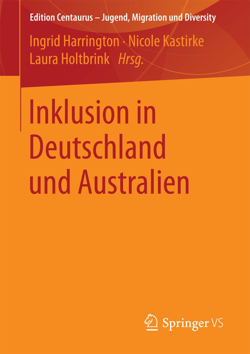 Harrington, Ingrid - Inklusion in Deutschland und Australien, ebook