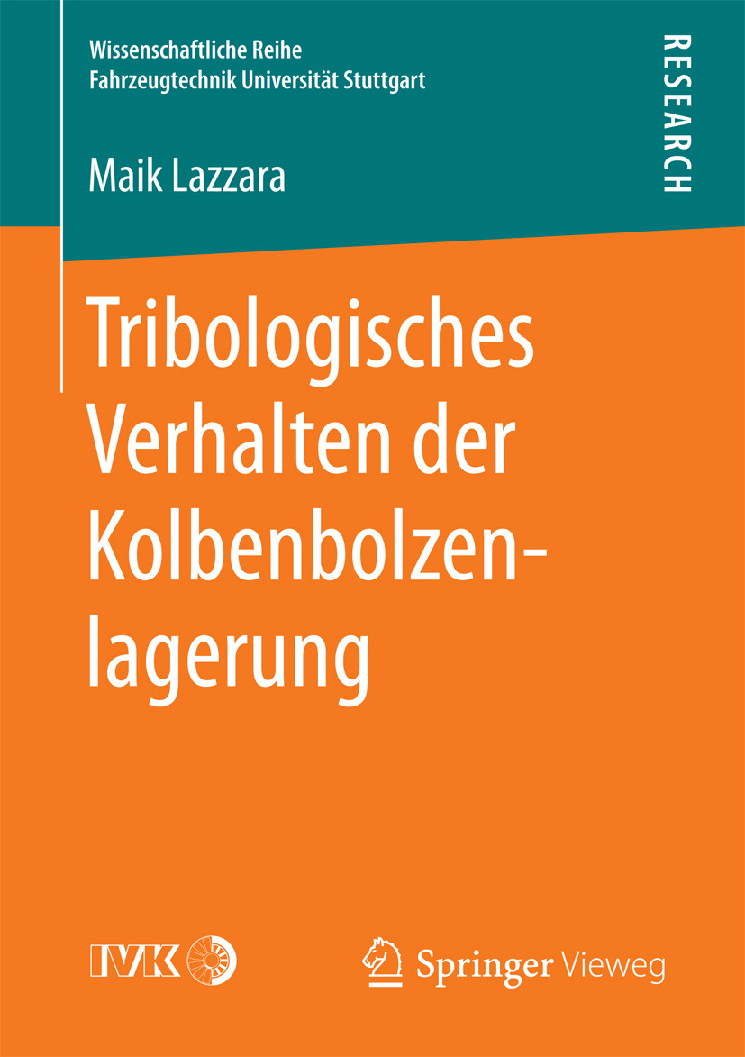 Lazzara, Maik - Tribologisches Verhalten der Kolbenbolzenlagerung, ebook