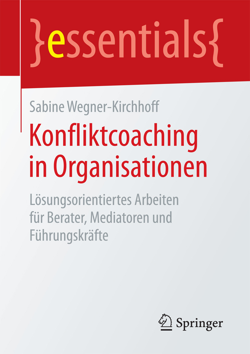 Wegner-Kirchhoff, Sabine - Konfliktcoaching in Organisationen, ebook