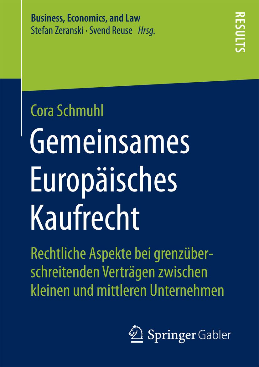 Schmuhl, Cora - Gemeinsames Europäisches Kaufrecht, ebook