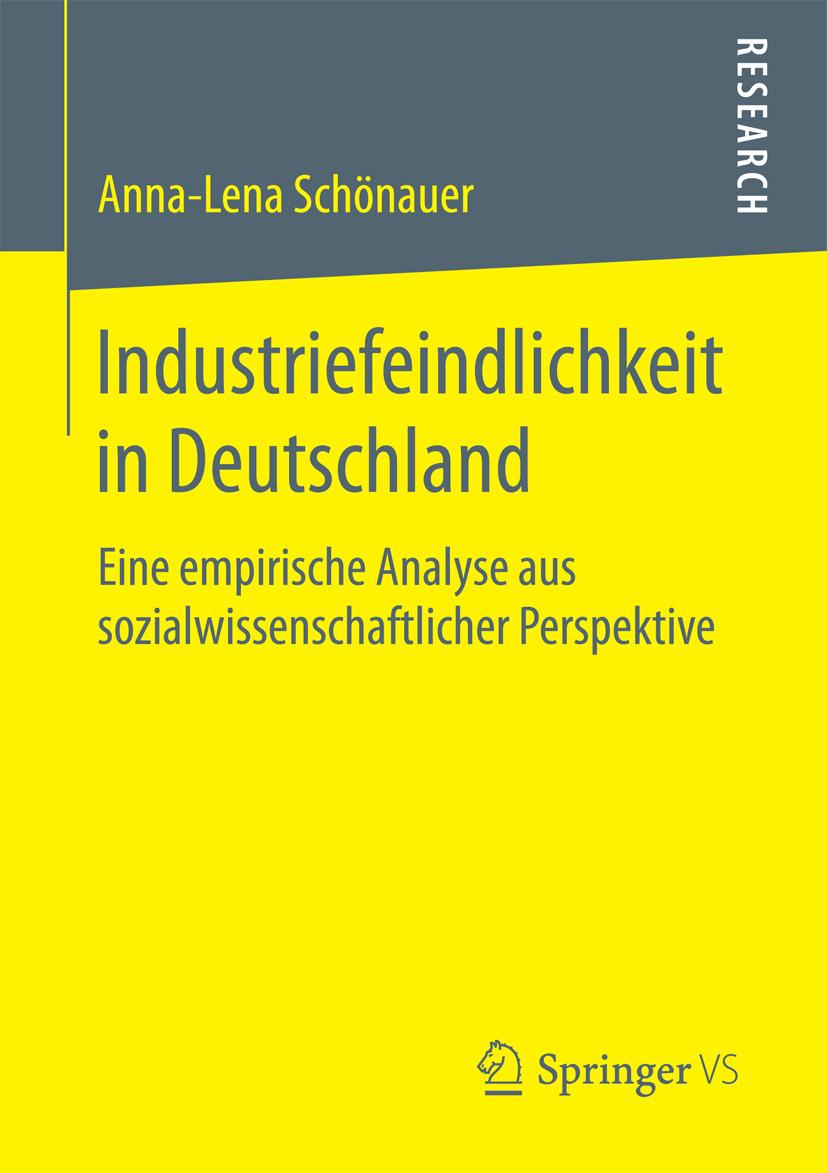 Schönauer, Anna-Lena - Industriefeindlichkeit in Deutschland, ebook