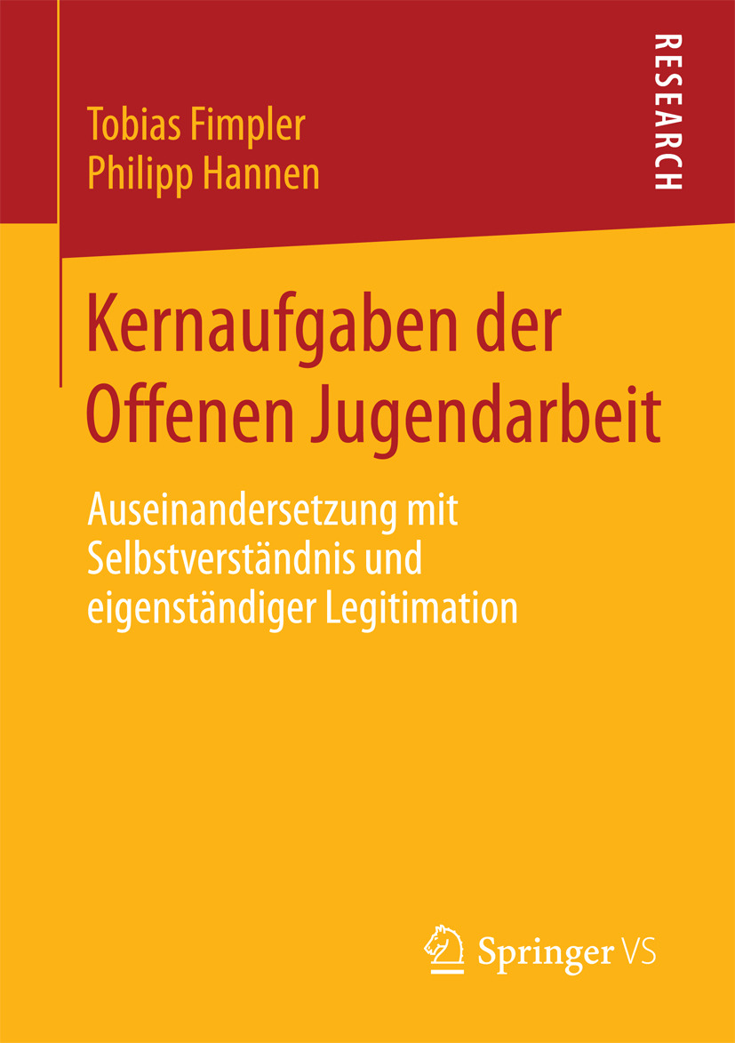 Fimpler, Tobias - Kernaufgaben der Offenen Jugendarbeit, ebook