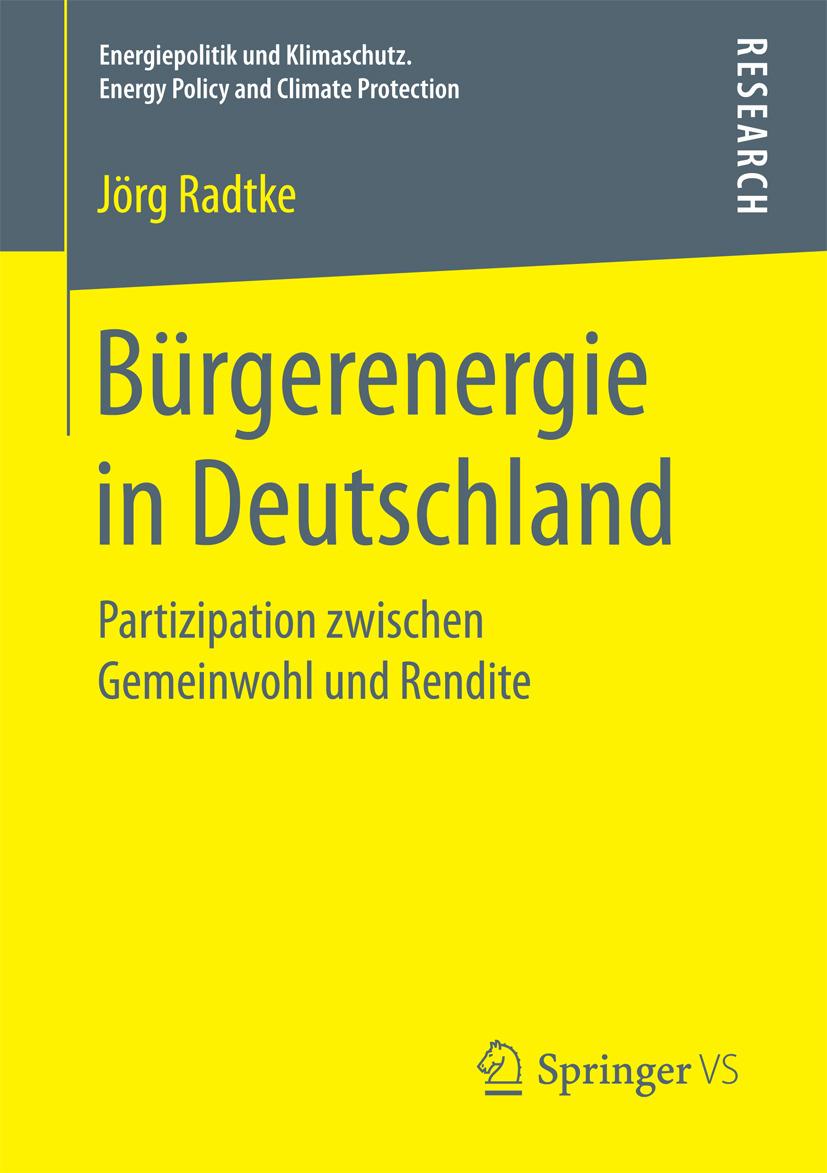 Radtke, Jörg - Bürgerenergie in Deutschland, ebook