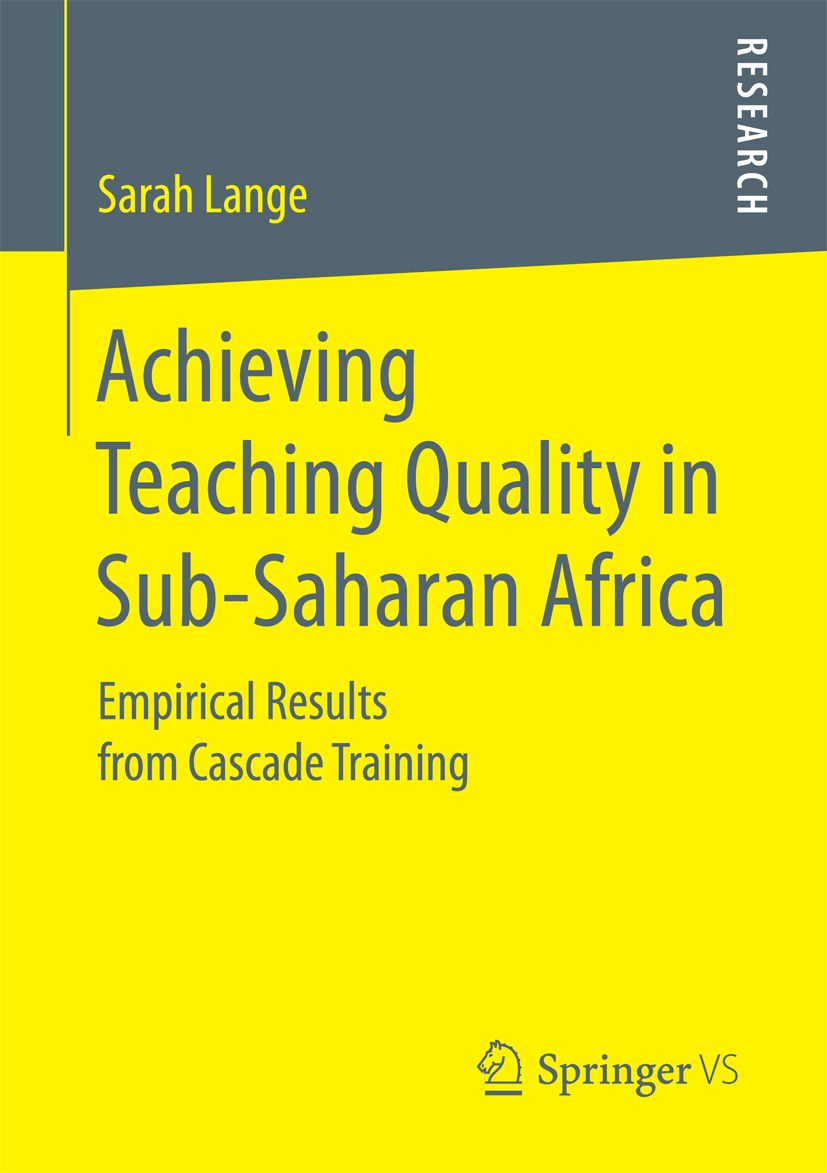 Lange, Sarah - Achieving Teaching Quality in Sub-Saharan Africa, ebook