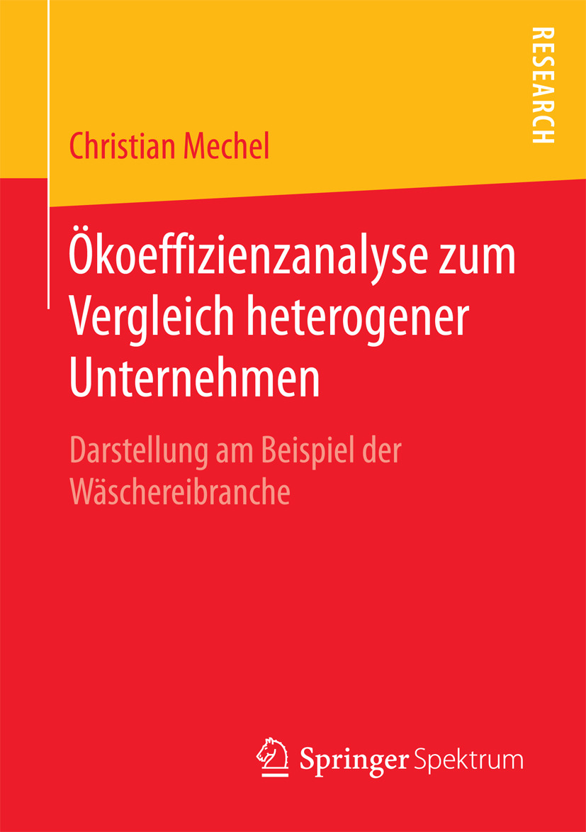 Mechel, Christian - Ökoeffizienzanalyse zum Vergleich heterogener Unternehmen, ebook