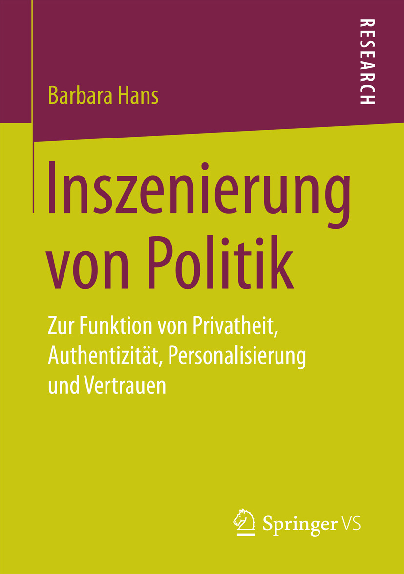 Hans, Barbara - Inszenierung von Politik, ebook