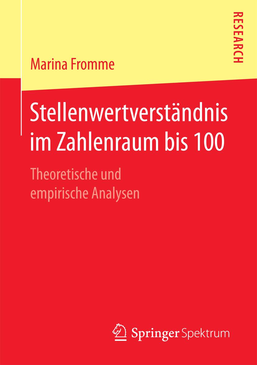 Fromme, Marina - Stellenwertverständnis im Zahlenraum bis 100, ebook