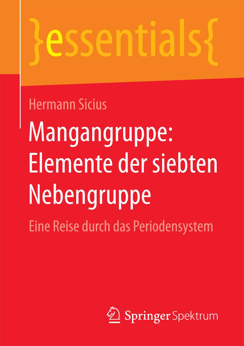 Sicius, Hermann - Mangangruppe: Elemente der siebten Nebengruppe, ebook