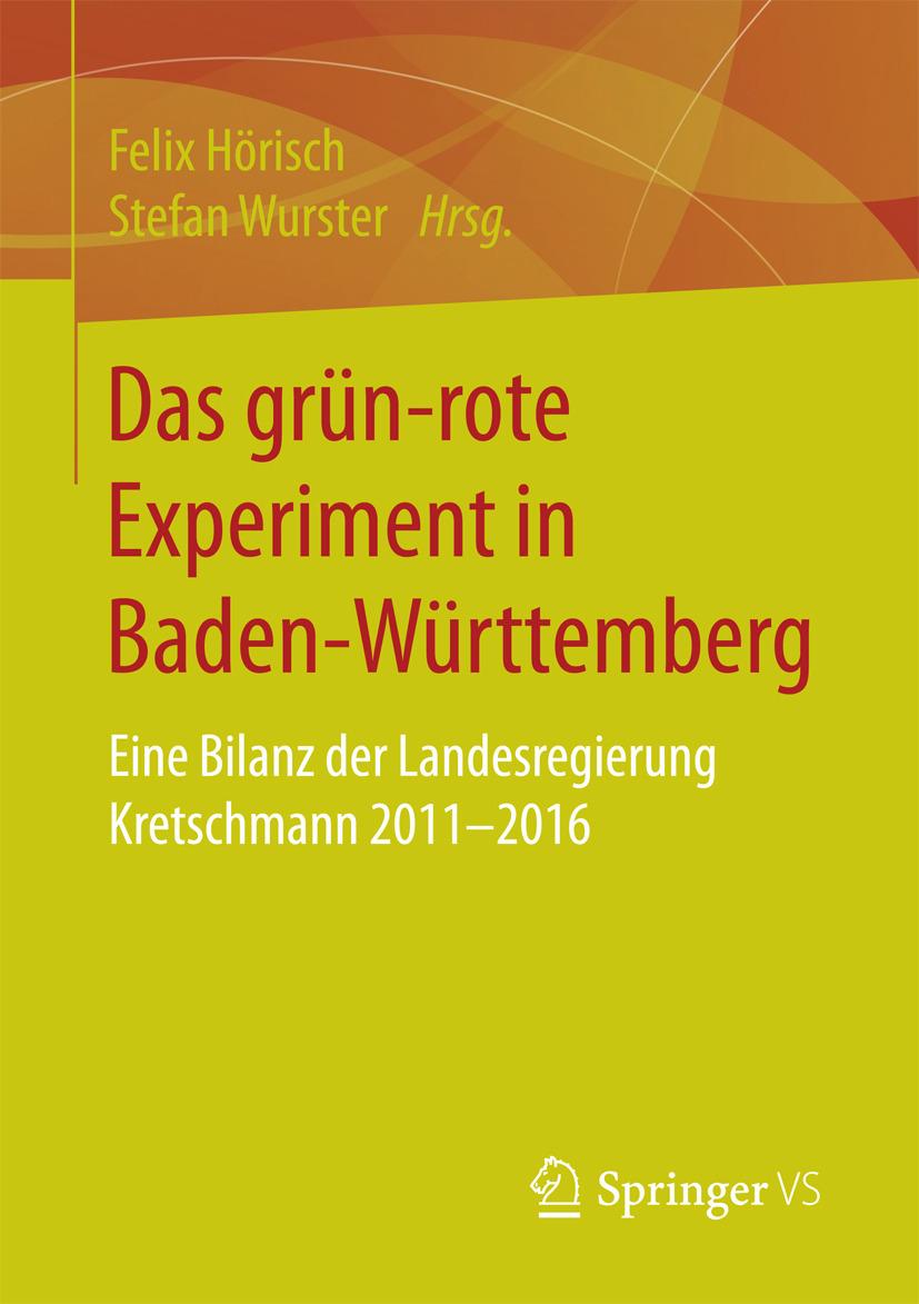 Hörisch, Felix - Das grün‐rote Experiment in Baden-Württemberg, ebook