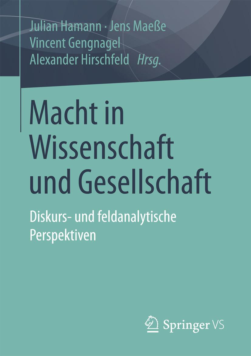 Gengnagel, Vincent - Macht in Wissenschaft und Gesellschaft, ebook