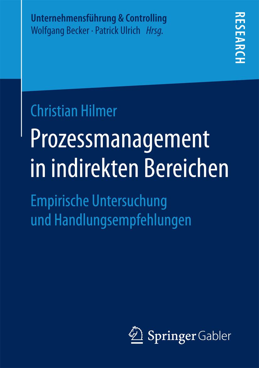 Hilmer, Christian - Prozessmanagement in indirekten Bereichen, ebook