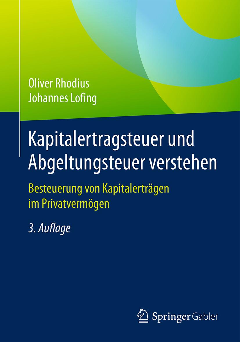 Lofing, Johannes - Kapitalertragsteuer und Abgeltungsteuer verstehen, ebook