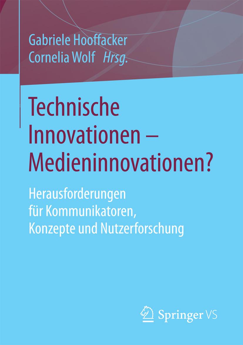 Hooffacker, Gabriele - Technische Innovationen - Medieninnovationen?, ebook
