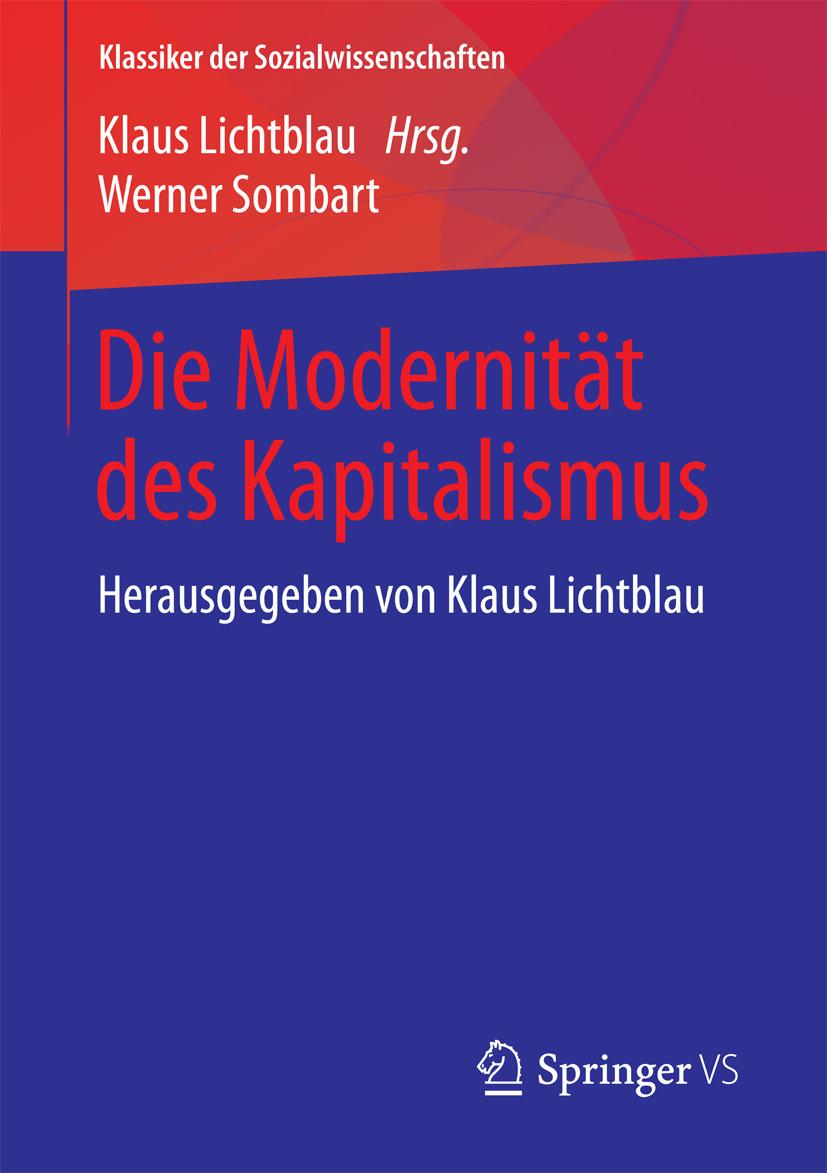 Lichtblau, Klaus - Die Modernität des Kapitalismus, ebook