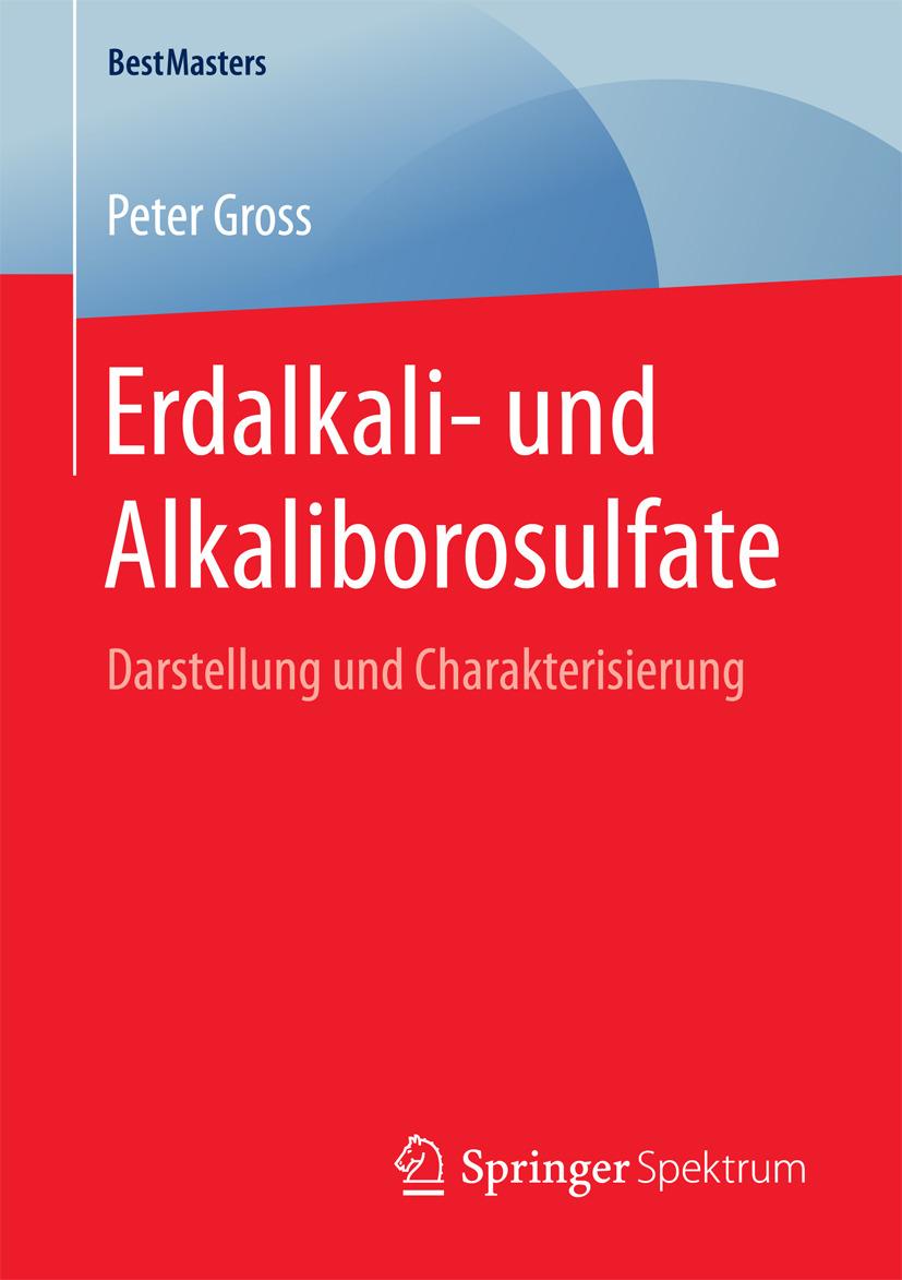 Gross, Peter - Erdalkali- und Alkaliborosulfate, ebook