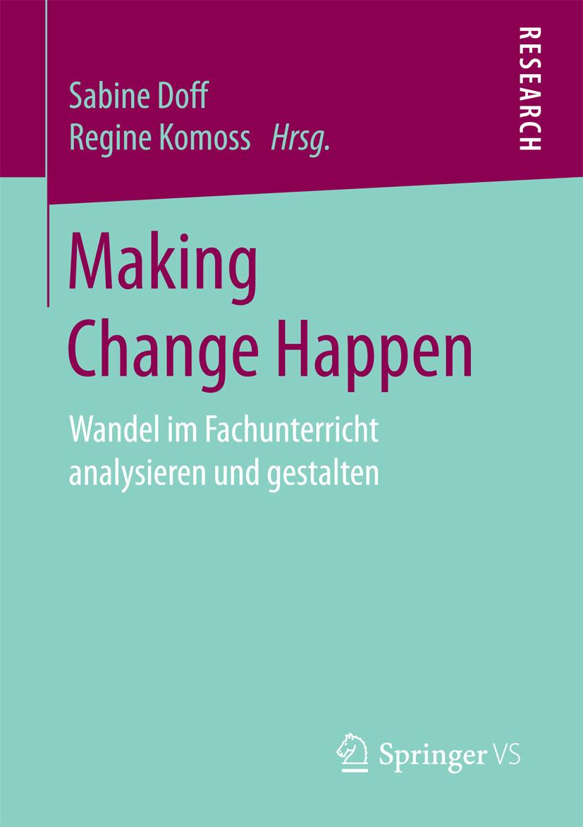 Doff, Sabine - Making Change Happen, ebook