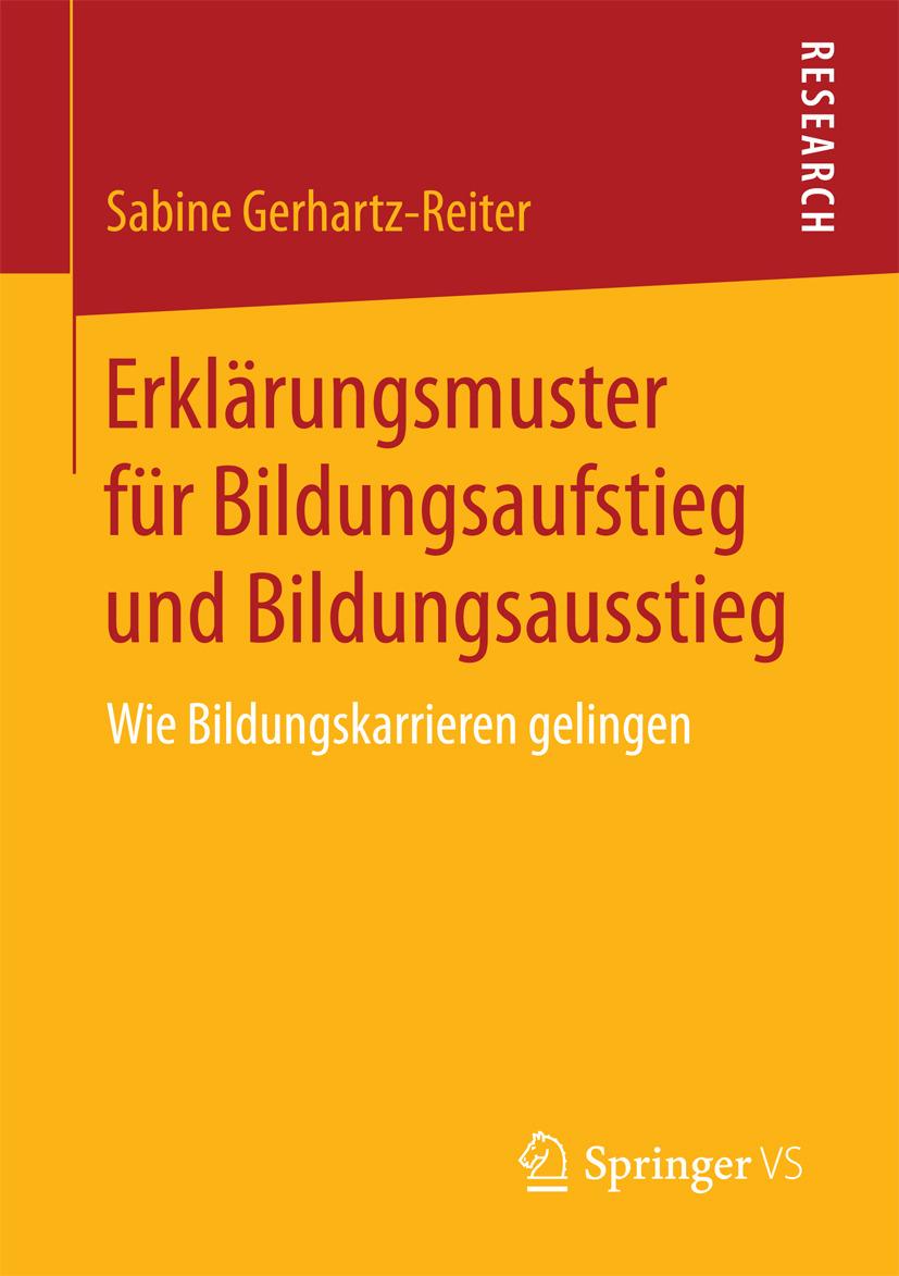Gerhartz-Reiter, Sabine - Erklärungsmuster für Bildungsaufstieg und Bildungsausstieg, ebook