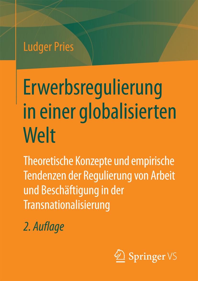 Pries, Ludger - Erwerbsregulierung in einer globalisierten Welt, ebook