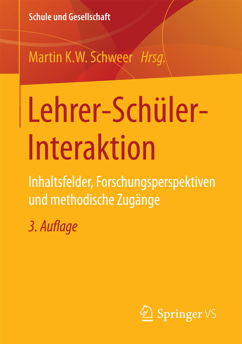 Schweer, Martin K.W. - Lehrer-Schüler-Interaktion, ebook
