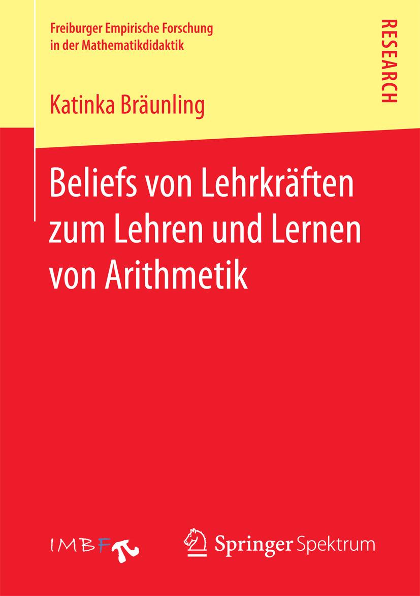Bräunling, Katinka - Beliefs von Lehrkräften zum Lehren und Lernen von Arithmetik, ebook