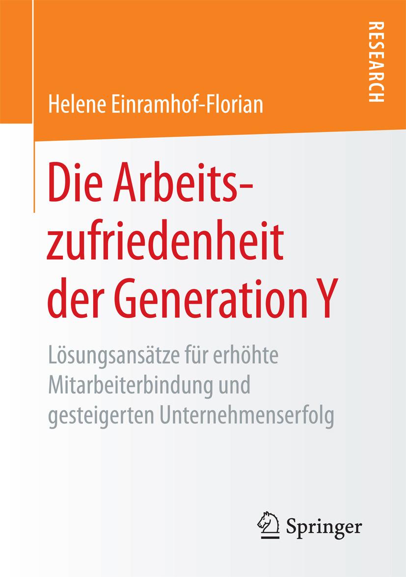 Einramhof-Florian, Helene - Die Arbeitszufriedenheit der Generation Y, ebook