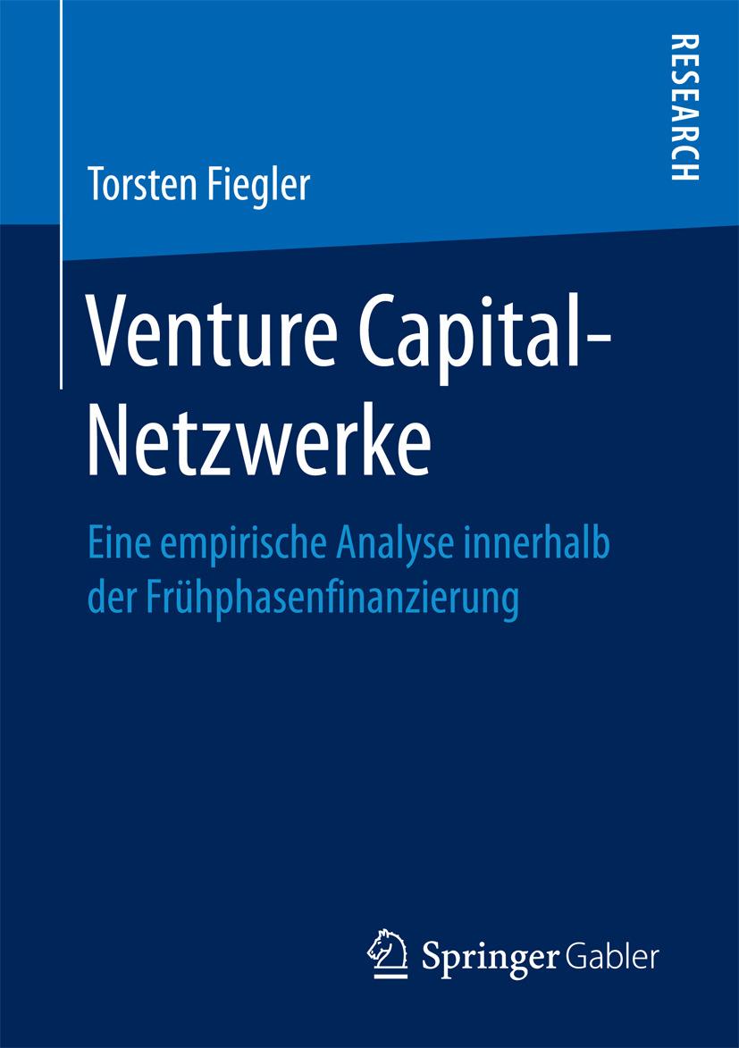 Fiegler, Torsten - Venture Capital-Netzwerke, e-bok