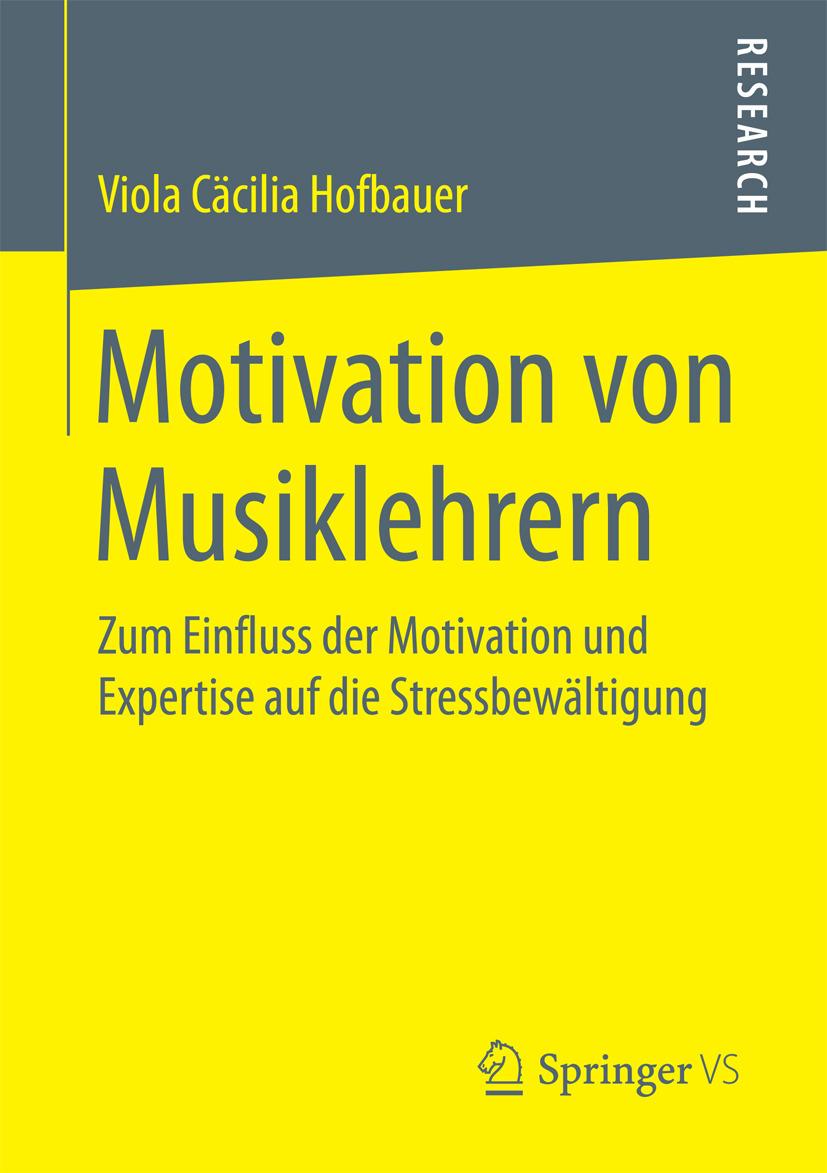 Hofbauer, Viola Cäcilia - Motivation von Musiklehrern, ebook