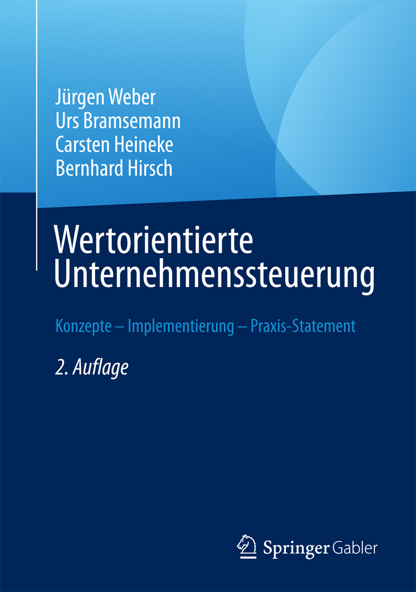 Bramsemann, Urs - Wertorientierte Unternehmenssteuerung, ebook