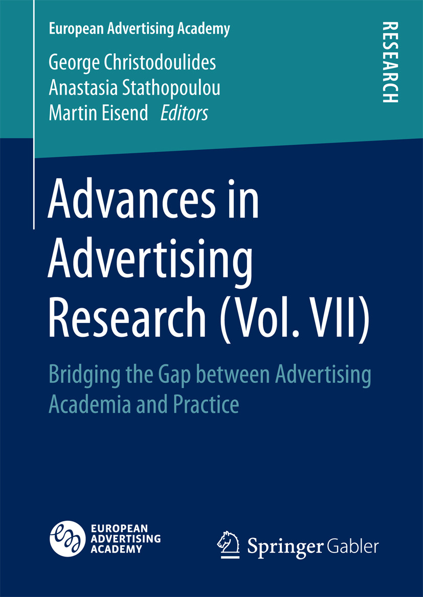 Christodoulides, George - Advances in Advertising Research (Vol. VII), ebook
