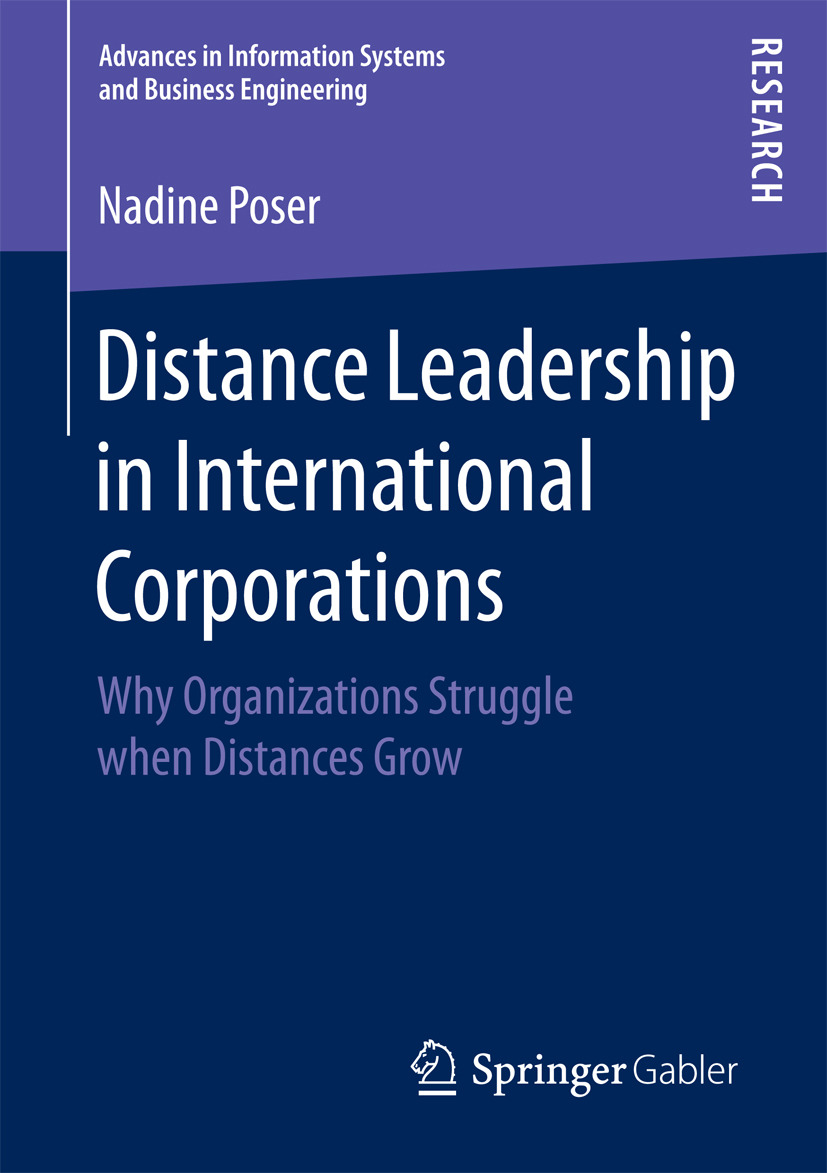 Poser, Nadine - Distance Leadership in International Corporations, ebook