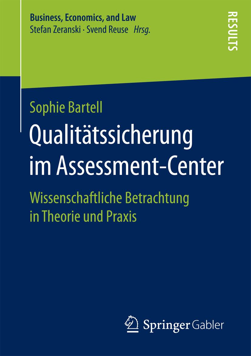 Bartell, Sophie - Qualitätssicherung im Assessment-Center, ebook