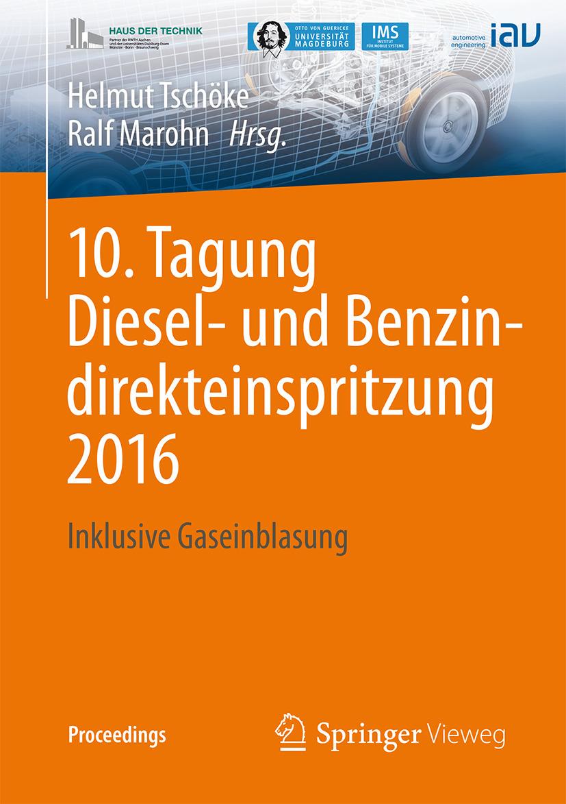 Marohn, Ralf - 10. Tagung Diesel- und Benzindirekteinspritzung 2016, ebook