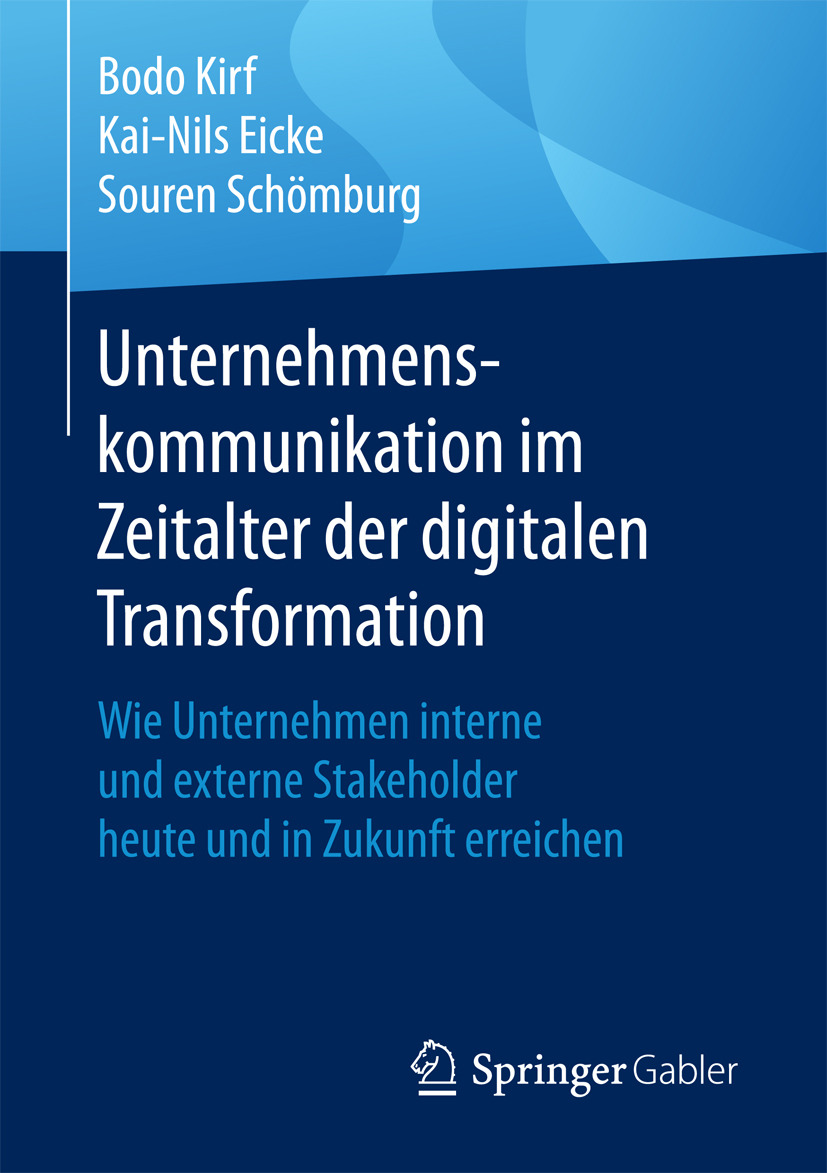 Eicke, Kai-Nils - Unternehmenskommunikation im Zeitalter der digitalen Transformation, ebook
