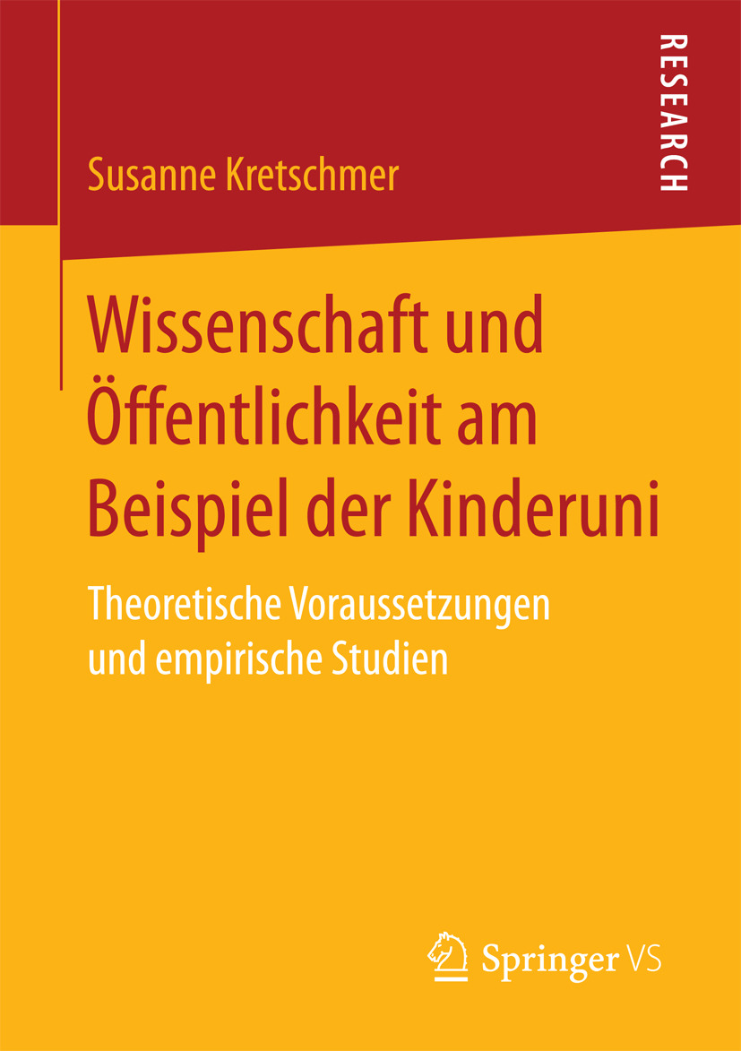 Kretschmer, Susanne - Wissenschaft und Öffentlichkeit am Beispiel der Kinderuni, ebook