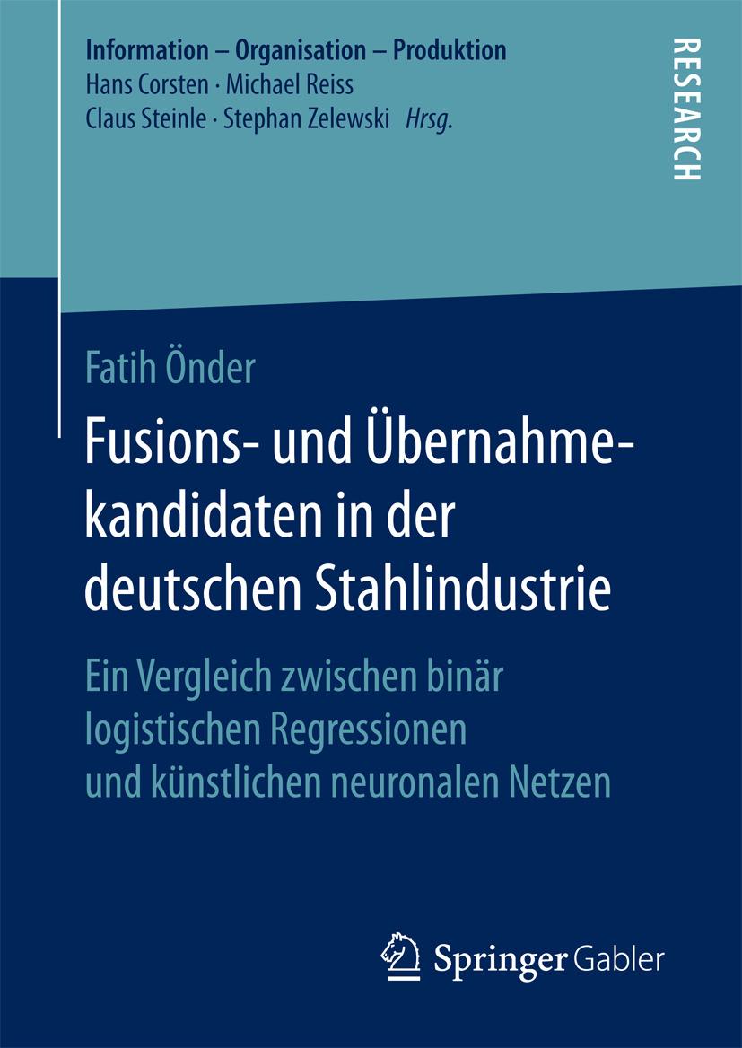 Önder, Fatih - Fusions- und Übernahmekandidaten in der deutschen Stahlindustrie, ebook