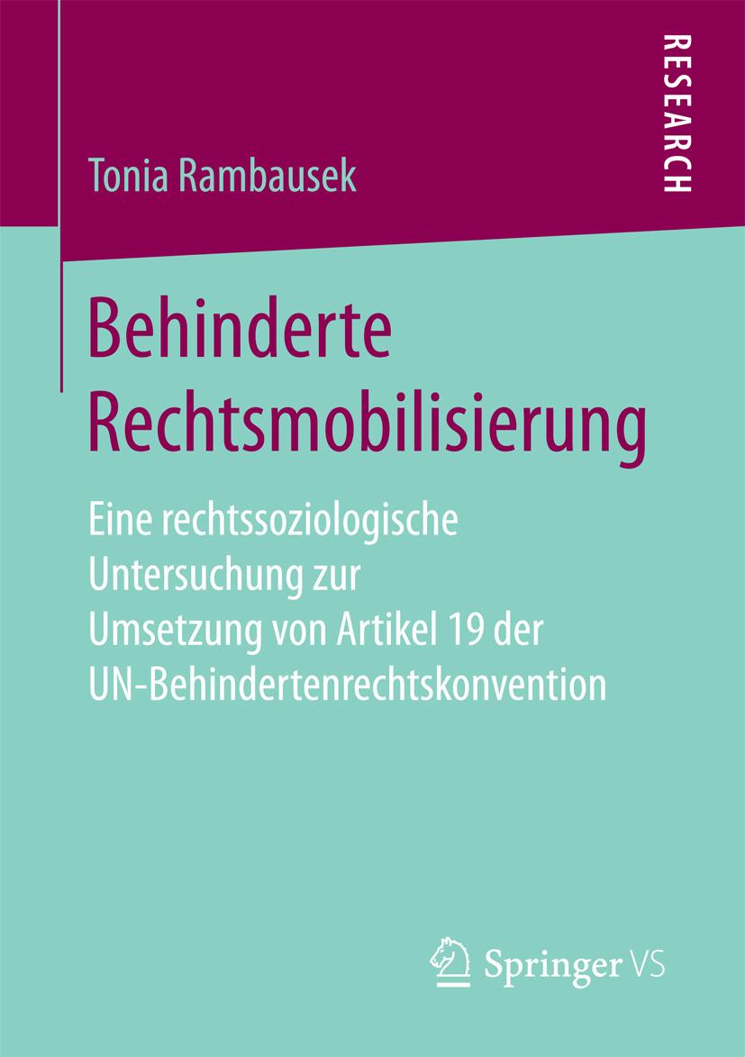 Rambausek, Tonia - Behinderte Rechtsmobilisierung, ebook