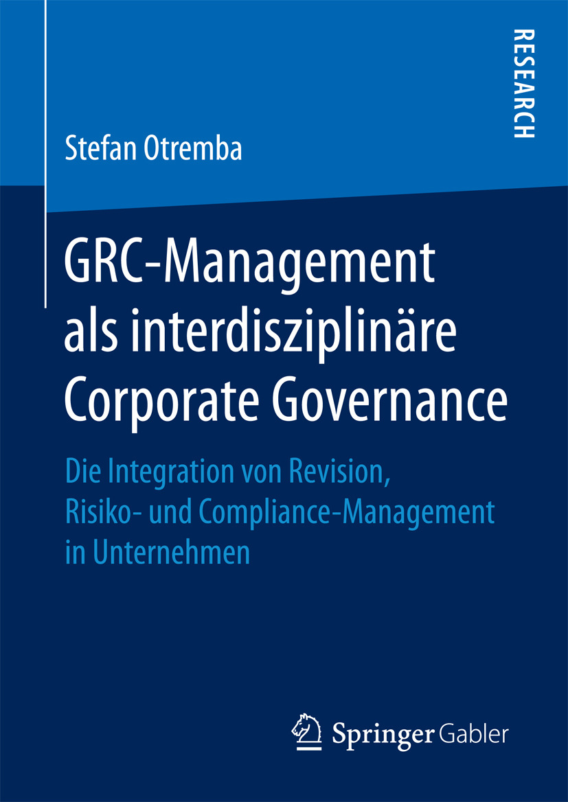 Otremba, Stefan - GRC-Management als interdisziplinäre Corporate Governance, ebook