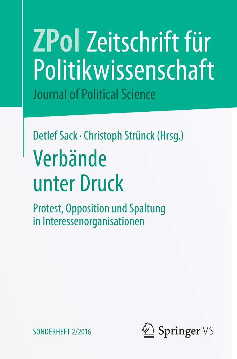 Sack, Detlef - Verbände unter Druck, ebook