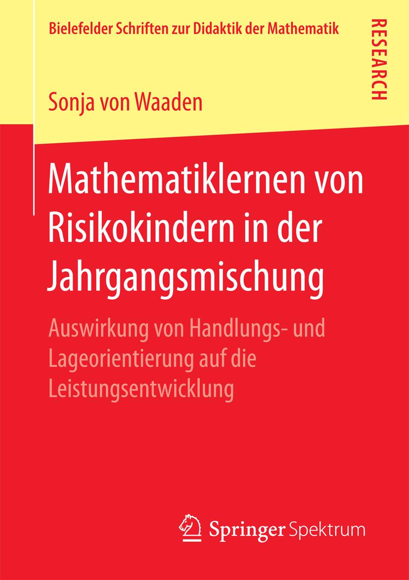 Waaden, Sonja von - Mathematiklernen von Risikokindern in der Jahrgangsmischung, ebook