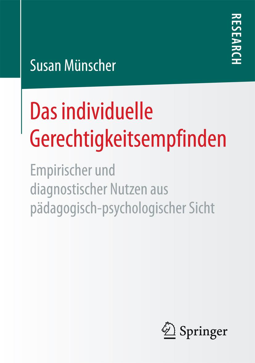 Münscher, Susan - Das individuelle Gerechtigkeitsempfinden, ebook
