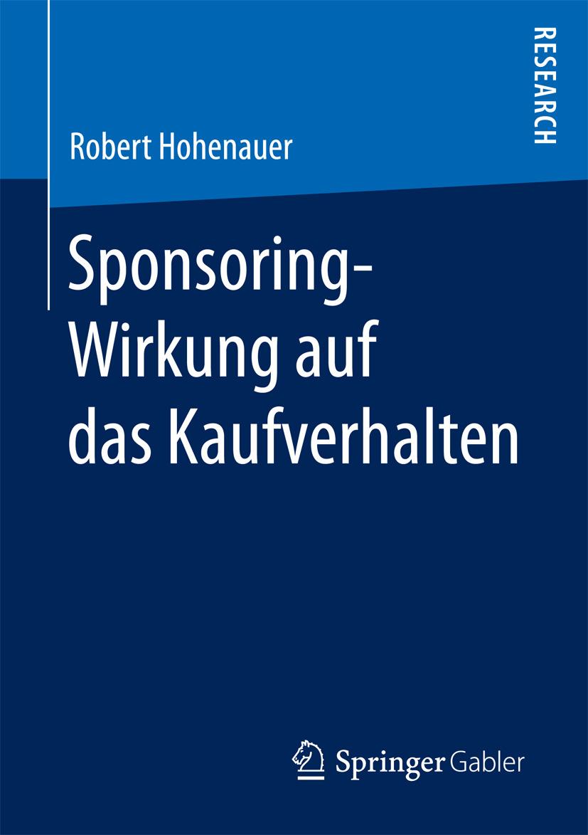 Hohenauer, Robert - Sponsoring-Wirkung auf das Kaufverhalten, ebook