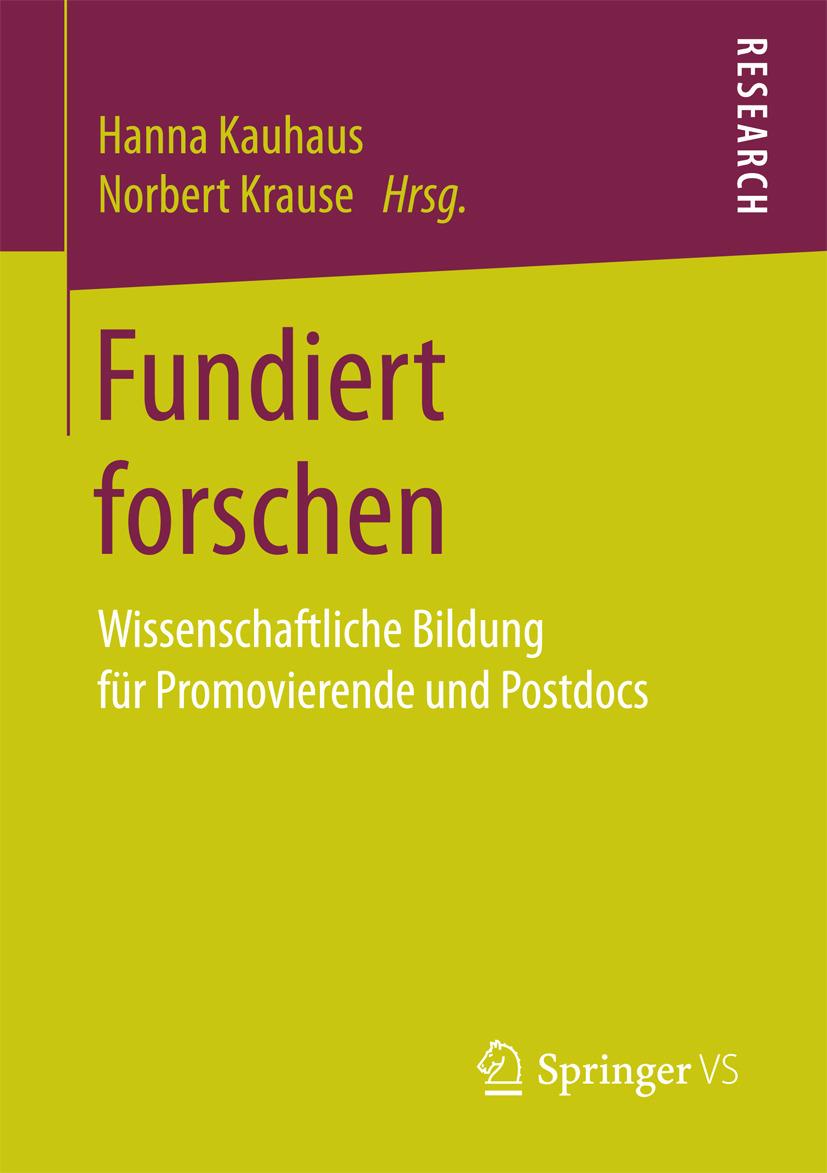 Kauhaus, Hanna - Fundiert forschen, ebook