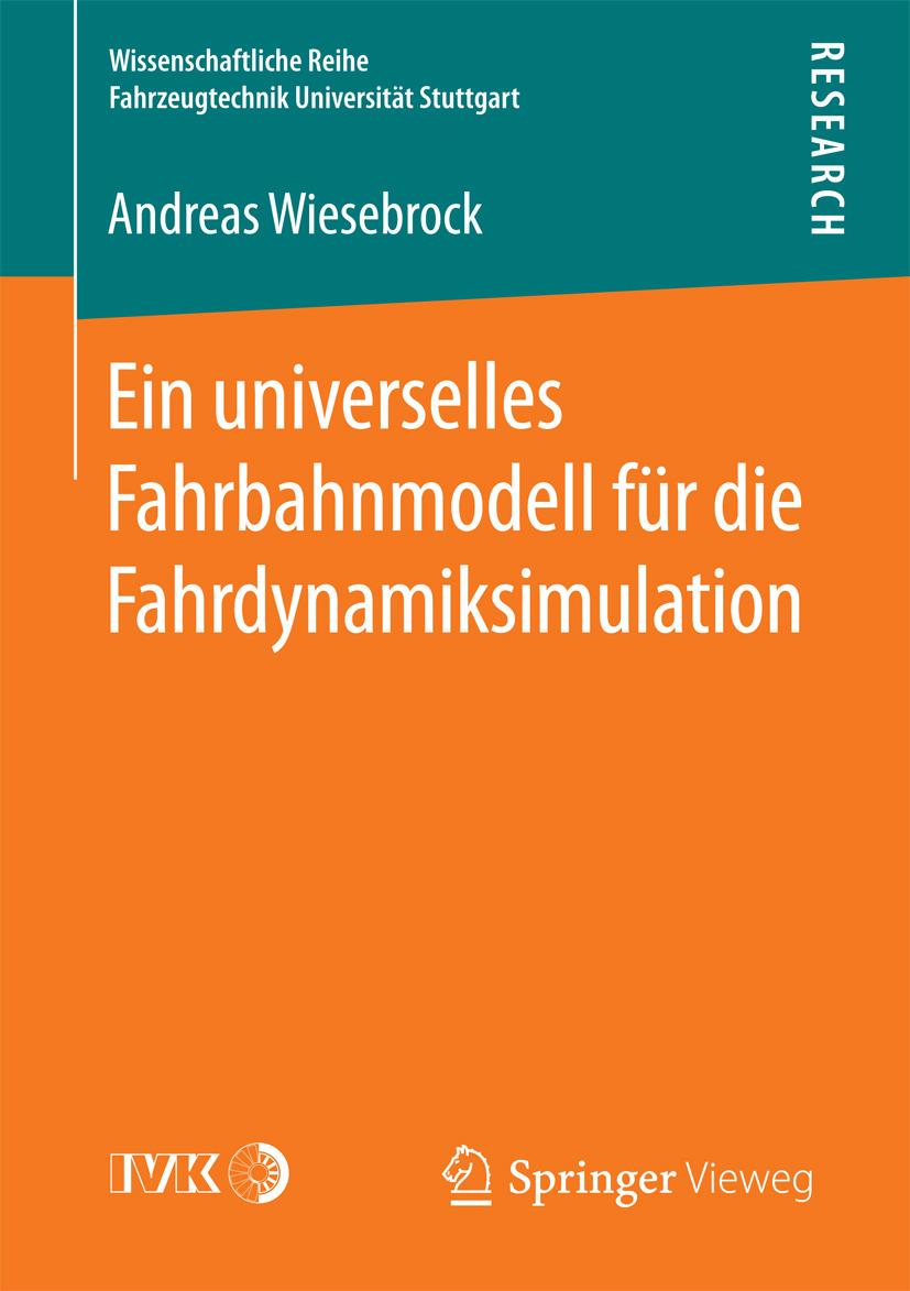 Wiesebrock, Andreas - Ein universelles Fahrbahnmodell für die Fahrdynamiksimulation, ebook
