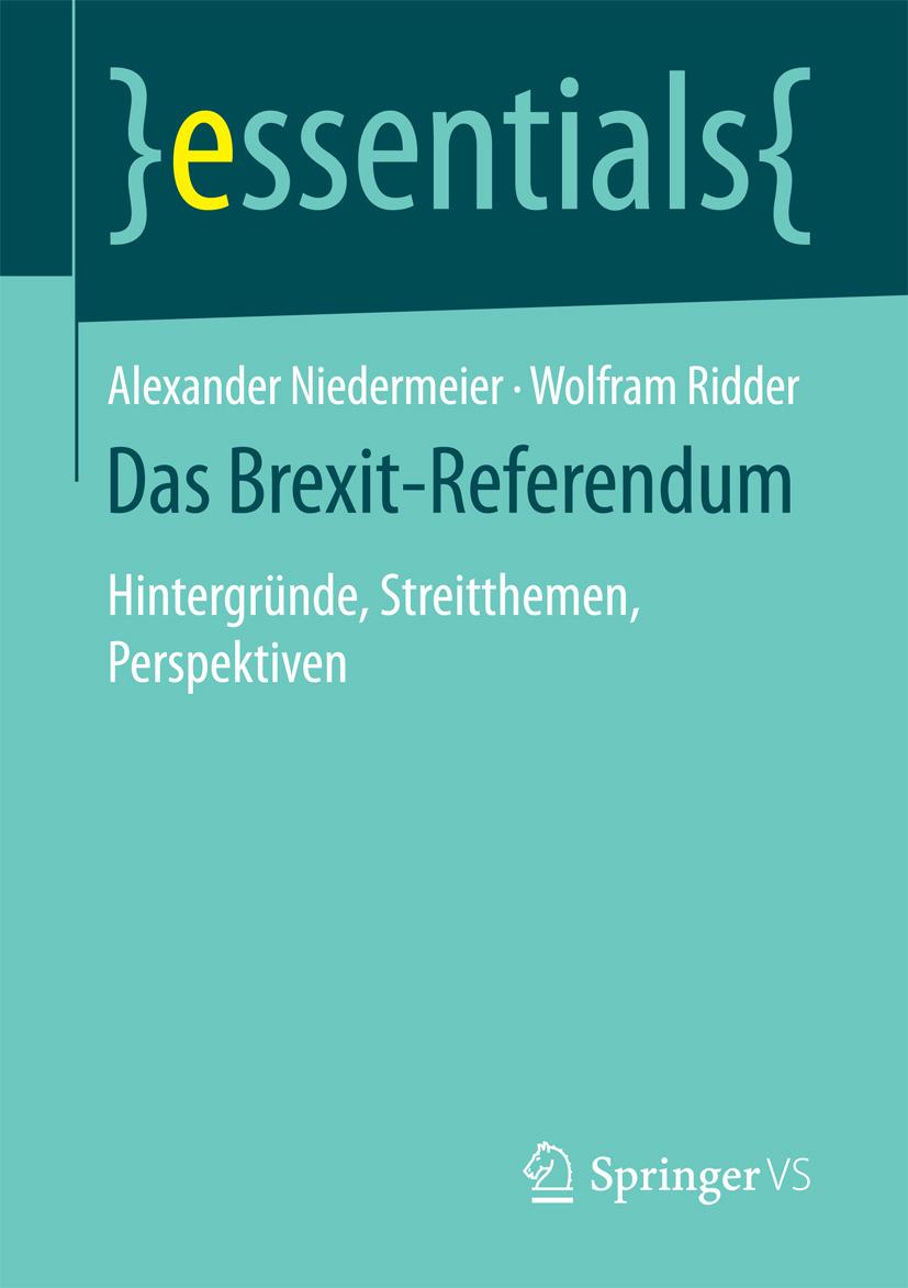Niedermeier, Alexander - Das Brexit-Referendum, ebook