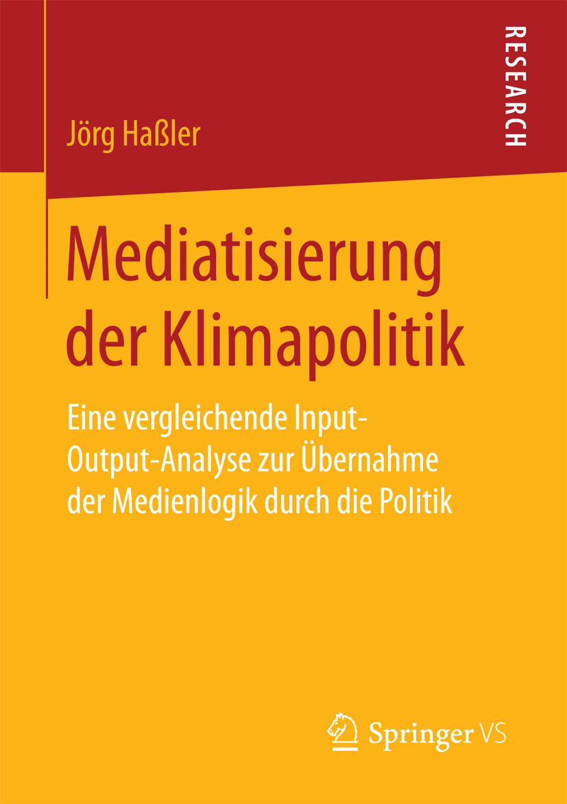 Haßler, Jörg - Mediatisierung der Klimapolitik, ebook