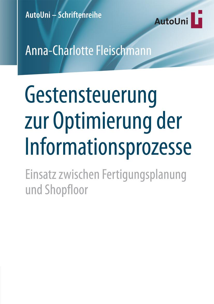 Fleischmann, Anna-Charlotte - Gestensteuerung zur Optimierung der Informationsprozesse, ebook