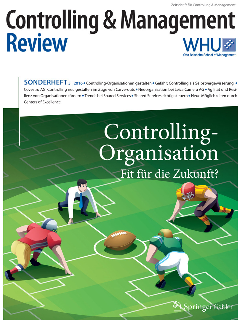 Schäffer, Utz - Controlling & Management Review Sonderheft 3-2016, e-bok