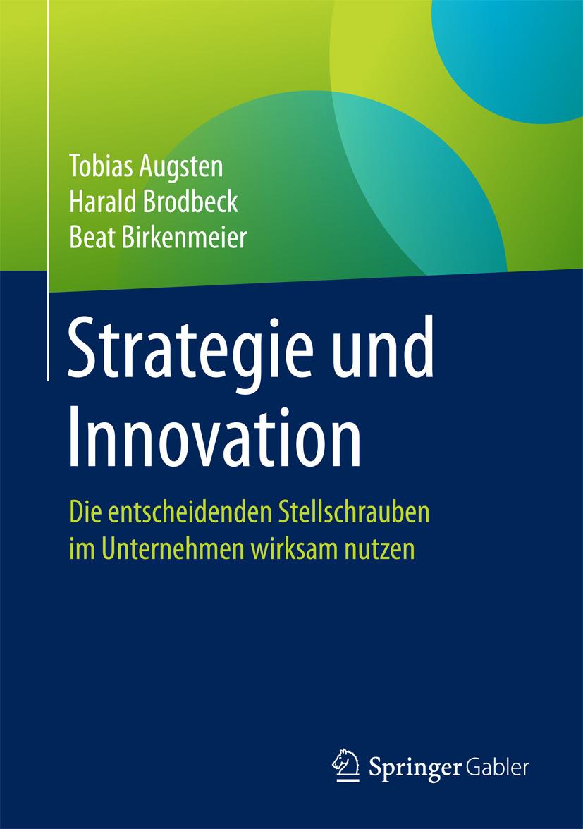 Augsten, Tobias - Strategie und Innovation, ebook